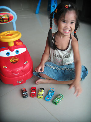 Her cars